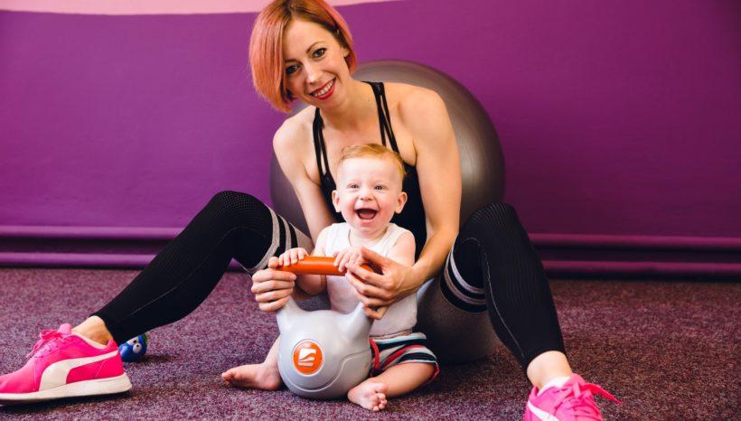 Jak být mamkou ve formě?